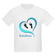 Heart Baby prints B T-Shirt