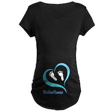 Heart Baby prints B Maternity T-Shirt