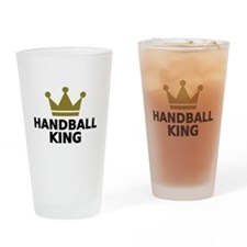 Handball king Drinking Glass