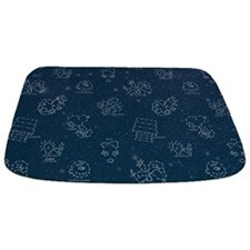 Snoopy Space Bathmat