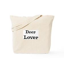 Deer lover Tote Bag