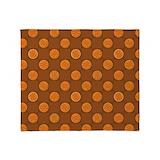 Basketball throw blanket Fleece Blankets