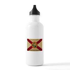Florida State Flag VINTAGE Water Bottle