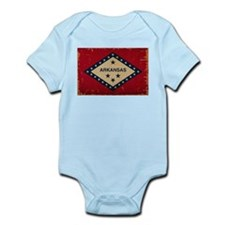 Arkansas State Flag VINTAGE Body Suit
