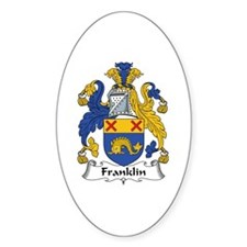 Franklin Oval Decal