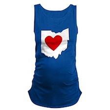 Ohio Heart Maternity Tank Top