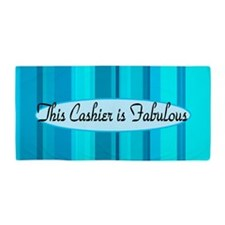 Blue Cashier Beach Towel