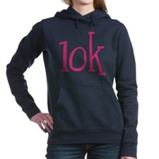 Big Pink 10K Marathon Women's Hooded Sweatshirt