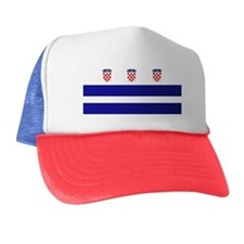 Croatia Dc Trucker Hat