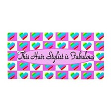 Hair Stylist Love Beach Towel