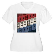The Tea Party Plus Size T-Shirt