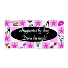 Chic Hygienist Beach Towel