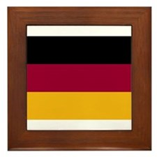 German Flag Gifts Framed Tile