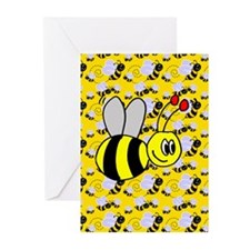 cards_bees11 Greeting Cards
