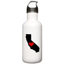 California Heart Water Bottle