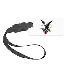 Eagle and Shield Luggage Tag