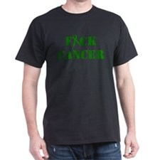 F*ck Cancer Green T-Shirt