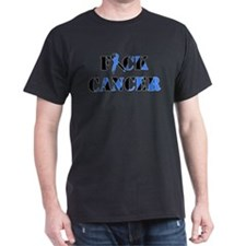 F*ck Cancer Black Blue T-Shirt