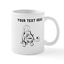 Custom Crouching Cougar Mugs