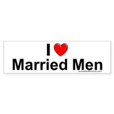 Married Men Car Sticker