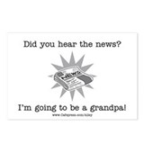 Grandpa News Postcards (Package of 8)