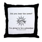 Grandpa News Throw Pillow