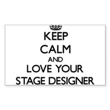 Keep Calm and Love your Stage Designer Decal