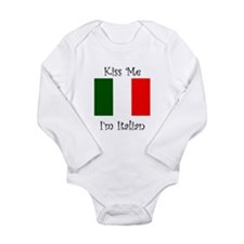 Kiss Me Im Italian Body Suit