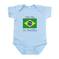 Kiss Me Im Brazilian Body Suit