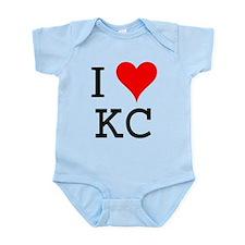 I Love KC Infant Bodysuit
