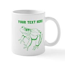 Custom Green Frog Mugs