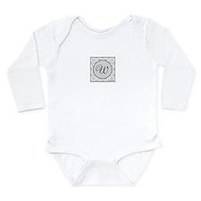 Sterling Script Monogr Long Sleeve Infant Bodysuit