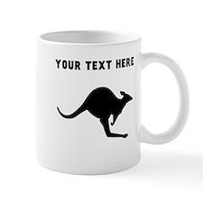 Custom Kangaroo Silhouette Mugs