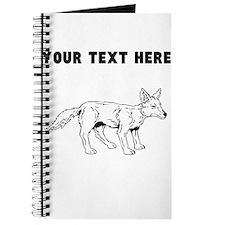 Custom Baby Coyote Journal