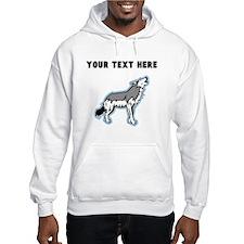 Custom Howling Wolf Hoodie