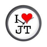 I Love JT Wall Clock