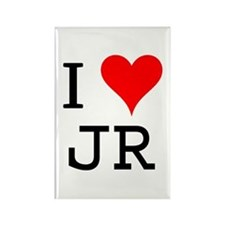I Love JR Rectangle Magnet