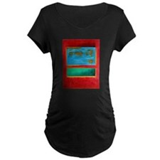 ROTHKO IN RED BLUE GREEN 2 Maternity T-Shirt
