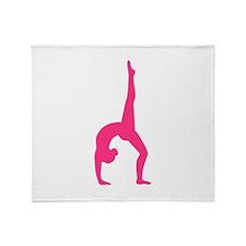 Rhythmic Gymnastics Throw Blanket