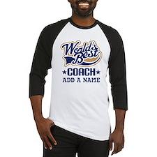 Personalized Coach Gift Baseball Jersey