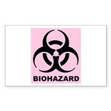 Girl's Biohazard Decal