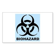 Boy's Biohazard Decal
