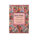 Vintage Quilt Rectangle Magnet