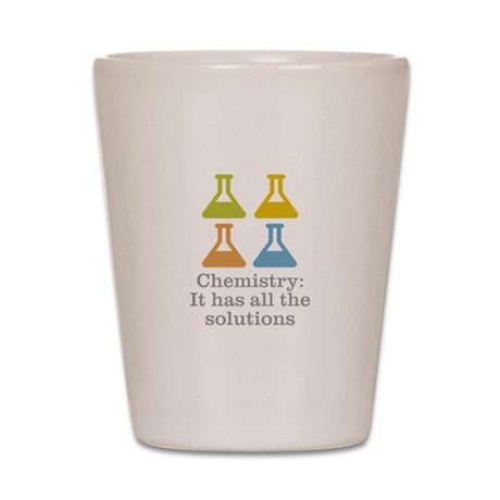 Chemistry Solutions Shot Glass