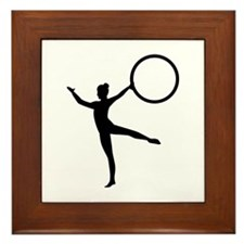 Gymnastics gymnast Framed Tile