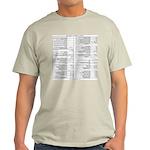 Emacs Reference T-shirt (Ash Grey)