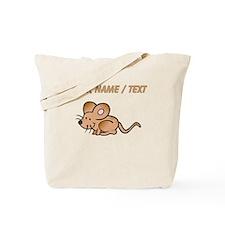 Custom Brown Mouse Tote Bag