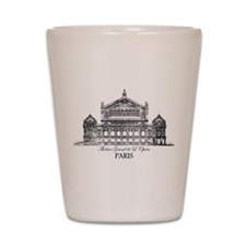 Vintage Grand Opera House, Paris Shot Glass