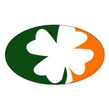 Cute Shamrock Decal