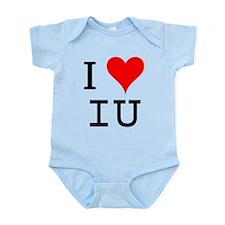 I Love IU Infant Bodysuit